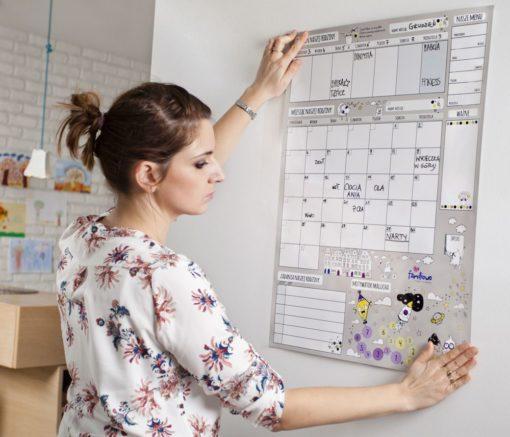 planer planowanie organizer na ścianę 1