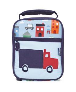 Powiększony lunchbox, w którym bezpiecznie przechowasz drugie śniadanie czy obiad swojego dziecka.