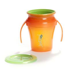 Oryginalny produkt amerykańskiej firmy WOW Gear - kubek niekapek 360° jest przeznaczony dladzieci od 9 miesiąca życia.