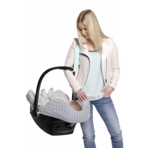 Pas Cocobelt to prosty, wygodny iinnowacyjny produkt, dzięki któremu przenoszenie dziecka wfoteliku samochodowym będzie łatwiejsze ibardziej bezpieczne.
