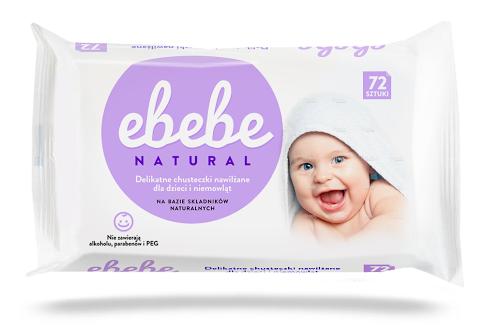 chusteczki nawilżane dla dzieci ebebe