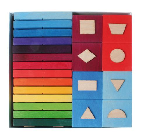 Domino geometryczne 28-el. 3+