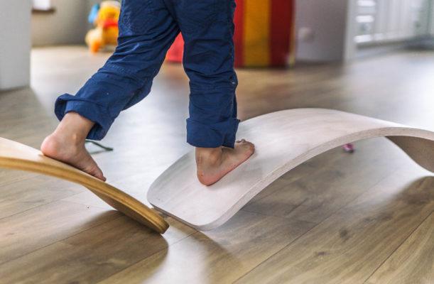 gakker deska do balansowania classic biała