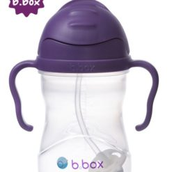 *NOWY* innowacyjny bidon ze słomką b.box winogronowy - winogronowy
