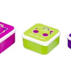 Pojemniki śniadaniowe 3 sztuki - Trixie Trunki