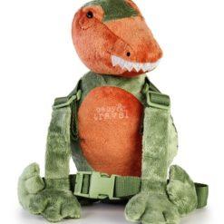 Szelki smycz dla dzieci z maskotką - Dinozaur