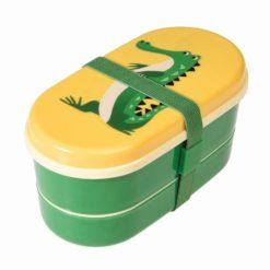 Lunchbox Bento z krokodylem Rex London