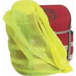 Okrycie przeciwdeszczowe na szkolny plecak tornister