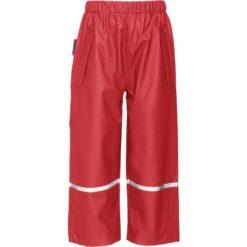 spodnie przeciwdeszczowe czerwone 86-104