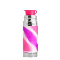 Termobutelka Pura Kiki Sport różowa SWIRL EDITION 260 ml