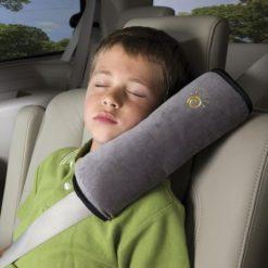Poduszka na pas bezpieczeństwa szara
