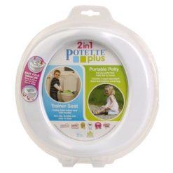 Potette Plus 2w1 nocnik turystyczny i nakładka na WC biały OUTLET