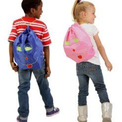 Worek-plecak przedszkolaka Potette Plus niebieski OUTLET