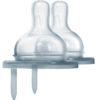 Smoczek dla niemowląt Y - szybki przepływ (6m+) do butelek Pura Kiki