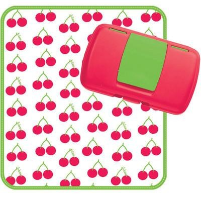 Przewijak w etui z miejscem na pieluchy i chusteczki b.box Cherry Delight