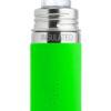 Termobutelka Pura Kiki ze smoczkiem i zieloną osłonką 260 ml