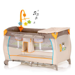 Łóżeczko turystyczne Babycenter Niedźwiadek