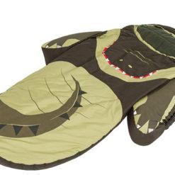 Łóżeczko turystyczne ze śpiworem Krokodyl