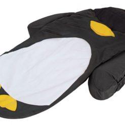 Łóżeczko turystyczne ze śpiworem Pingwin