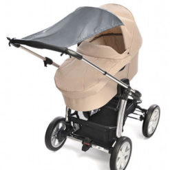 Daszek przeciwsłoneczny do wózka UV 50+ szary