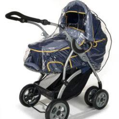 Folia przeciwdeszczowa na wózek głęboki