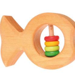 Grzechotka rybka z kolorowym brzuszkiem 0+Grimm's