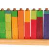 Kolorowe klocki do zabawy w liczenie