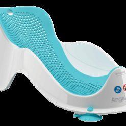 Leżaczek do kąpieli Angelcare Fit niebieski