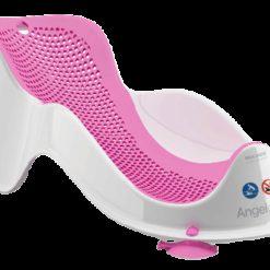 Leżaczek do kąpieli Angelcare Fit różowy