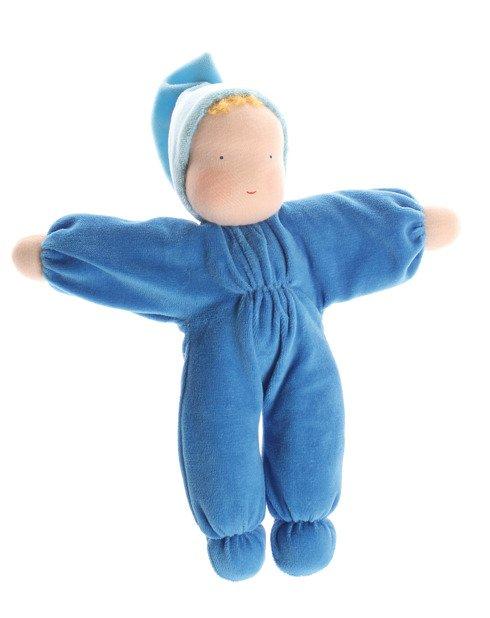 Mięciutka laleczka niebieska