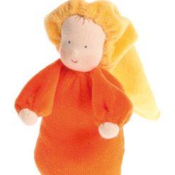 Mięciutka laleczka pomarańczowa