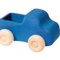 Niebieski samochodzik