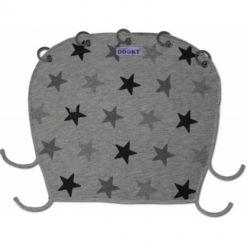 Osłonka do wózka i fotelika Dooky Design Grey Stars