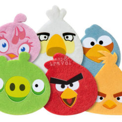 Pluszowe Plastry - Angry Birds