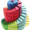 Podwójna kolorowa spirala 56-el.