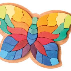 Tęczowy motyl