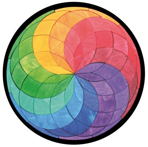 Układanka magnetyczna okrągła Grimm's