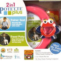 Zestaw Potette Plus 2w1 - książeczka + zabawka