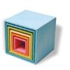 Zestaw pudełek pastelowych