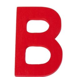 duża drewniana litera B Grimm's