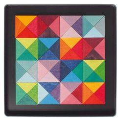 układanka magnetyczna trójkąty Grimm's